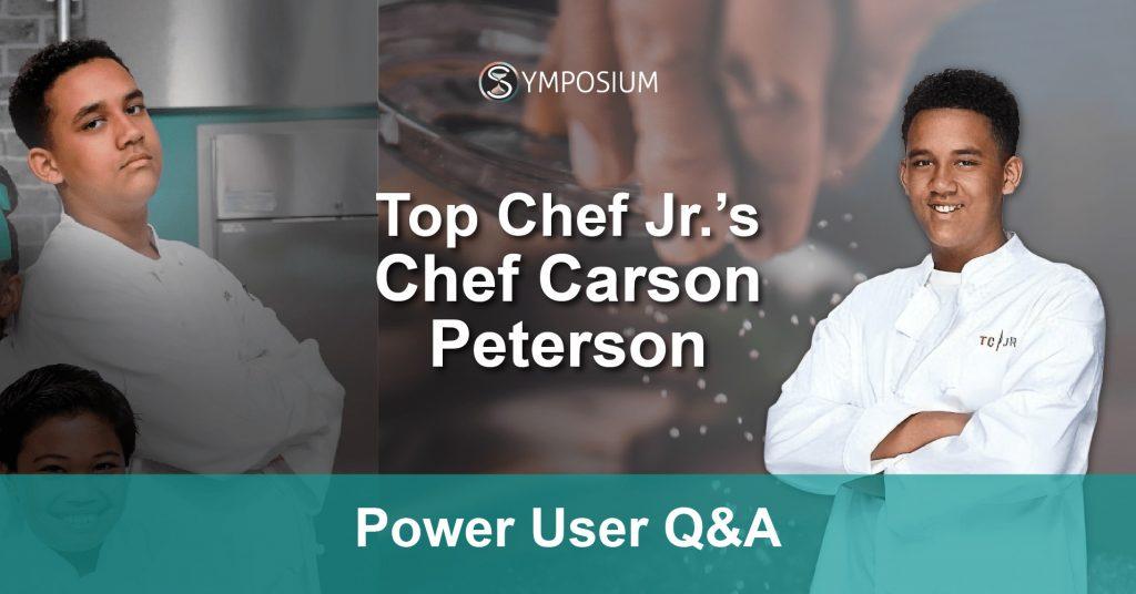 Top Chef Carson Peterson