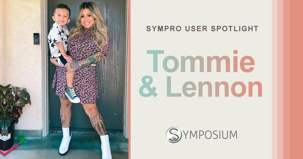 Tommie Michelle Rocha and Lennon